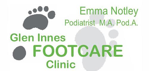 Glen Innes Footcare Clinic Logo - The Celtic Informer